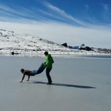 Lac du Toûno #curling #frisek