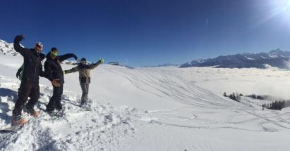 Opening the season 👐 #frisek #snowboard