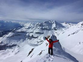 Sommet du Nuseyhorn #splitboard #frisek #snowboard #freeride #switzerland #suisse
