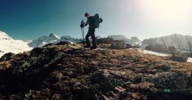 Raoul did it ! Gran Paradiso ! #frisek #granparadiso #grandparadis #italia #valdaoste #mountain #alpinihilisme #snowboard