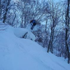 First day in Japan ! #frisek #hokkaido #sapporo @valax.simon #japan #snowboard