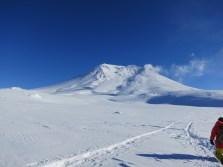 Hikking to Japan volcano