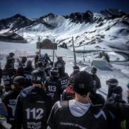 Thanks @bankedslalom #wasablast #frisek #snowboarding #bankedslalom #lescrosets #sweetzerland