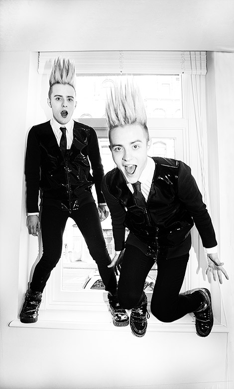 Jedward Ireland contestant of Eurovision Song contest 2012