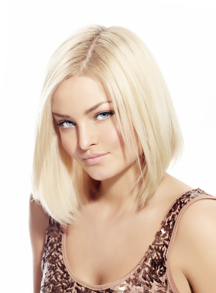 Blond Bob Haarfarbe Blondierung Frisuren Magazin