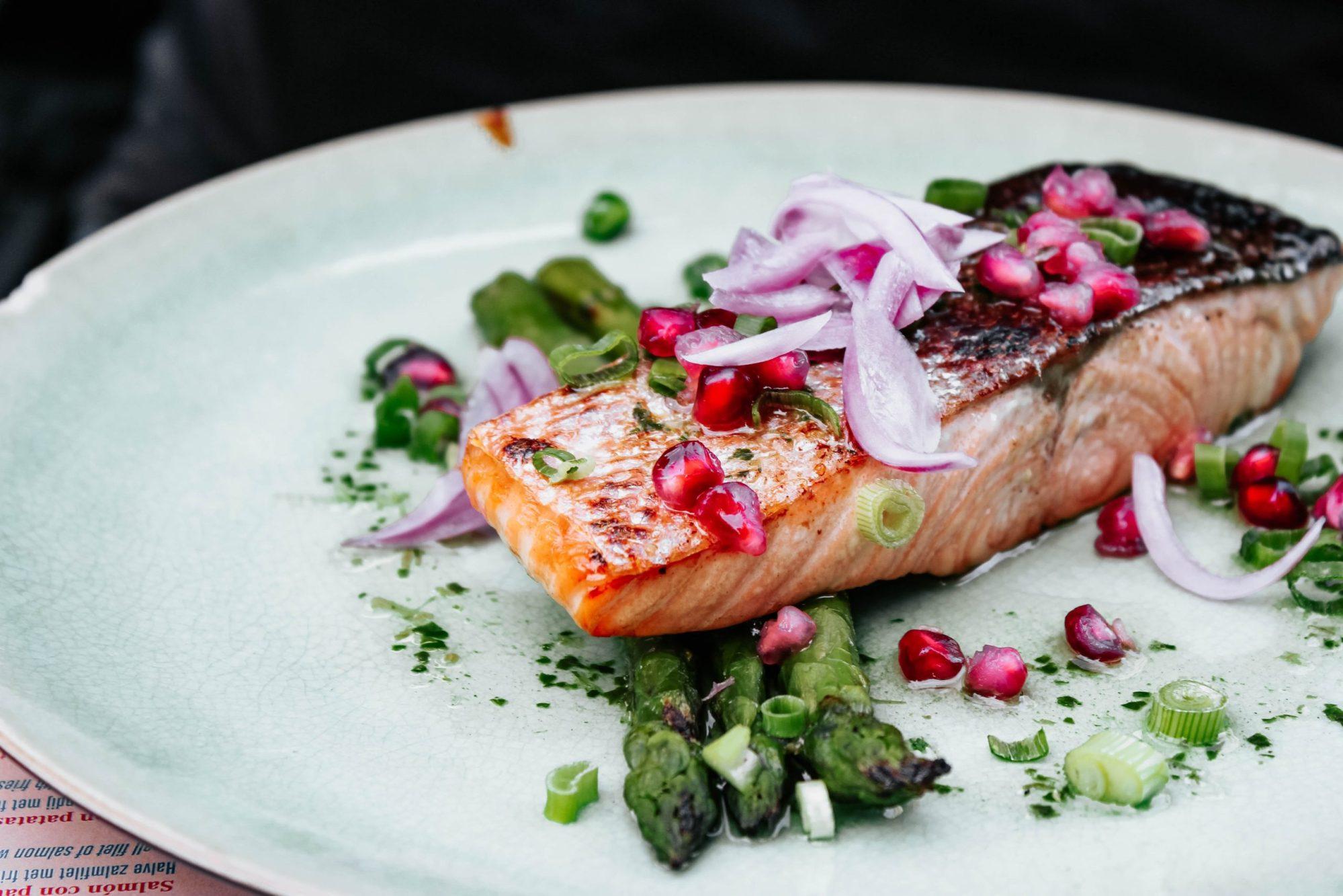 saumon sans huile