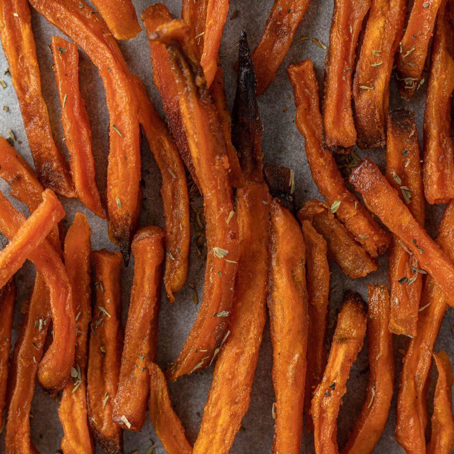 [Recette] Frites de patate douce à la friteuse sans huile