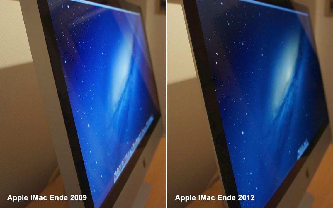 iMac Ende 2009 vs. iMac Ende 2012