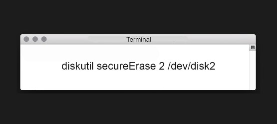 Teaser Terminal secureErase