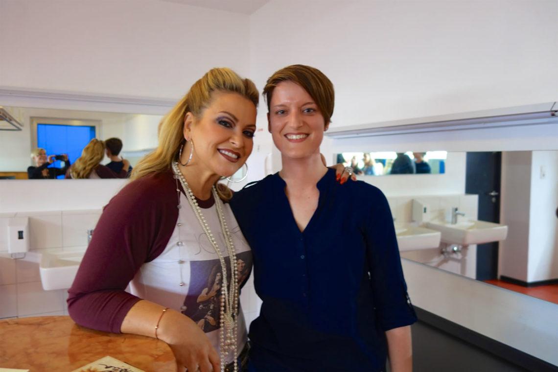 Anastacia und Denise in Hannover