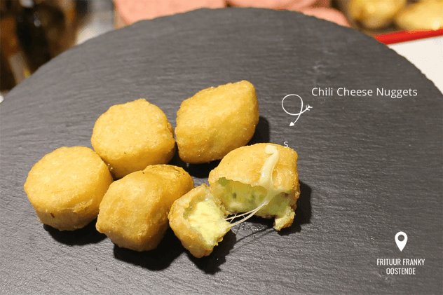Frituur Franky Oostende - Chili Cheese Nuggets