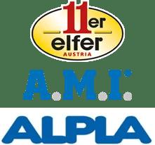 Logo 11er, AMI, ALPLA
