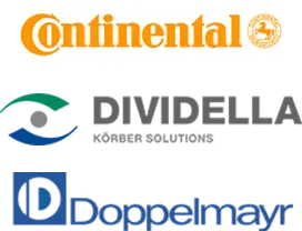 Logo Continental, Dividella, Doppelmayr