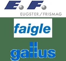 Logo Eugster / Frismag, Faigle, Gallus