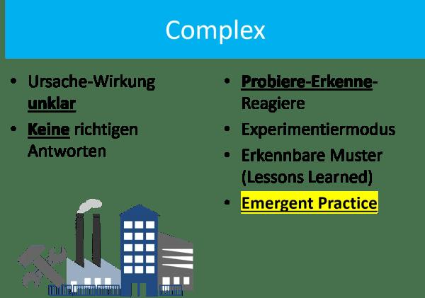 FRITZ - Cynefin - Komplexe Probleme