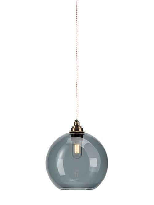 smoked glass globe bathroom pendant ceiling light ip44 hereford industrial modern designer contemporary retro style
