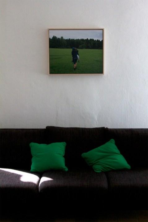 Cristiano Guerri, Hug, 2008, salotto di Michela - ph. Sara Mognol e Matteo Stocco
