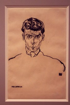 """Egon Schiele - """"Bildnis des Künstlers Albert Paris von Gütersloh"""" - 1918"""