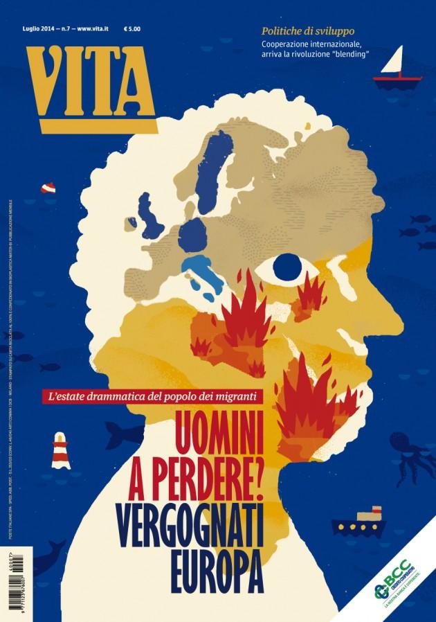 cover di luglio 2014, realizzata da Sarah Mazzetti   courtesy Matteo Riva