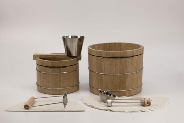 """""""Vinegar Making Kit"""", di Martin Mårtensson. Un kit che permette di produrre in casa l'aceto a partire dai frutti"""