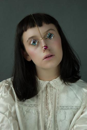 Photo: Runa Anzai Model: Kitty Garrett Hair & makeup: Yoko Minami Stylist: Kei Terayama