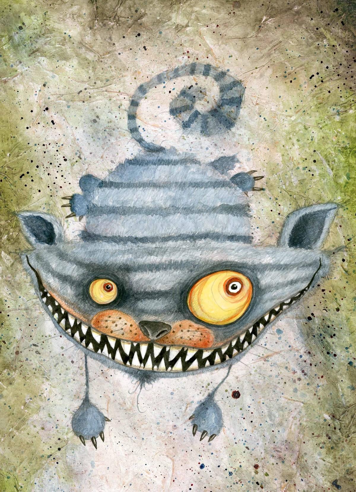 Gatto del Cheshire ©Stefano Bessoni