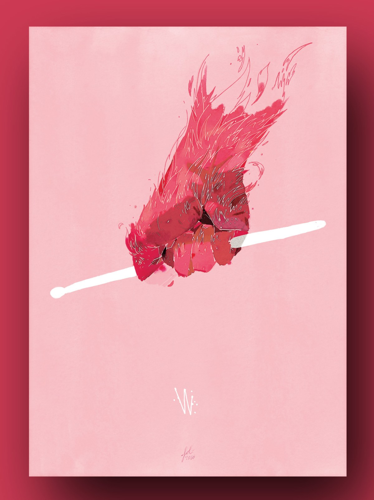 """Whiplash"", illustrato da Gianluca Folì"