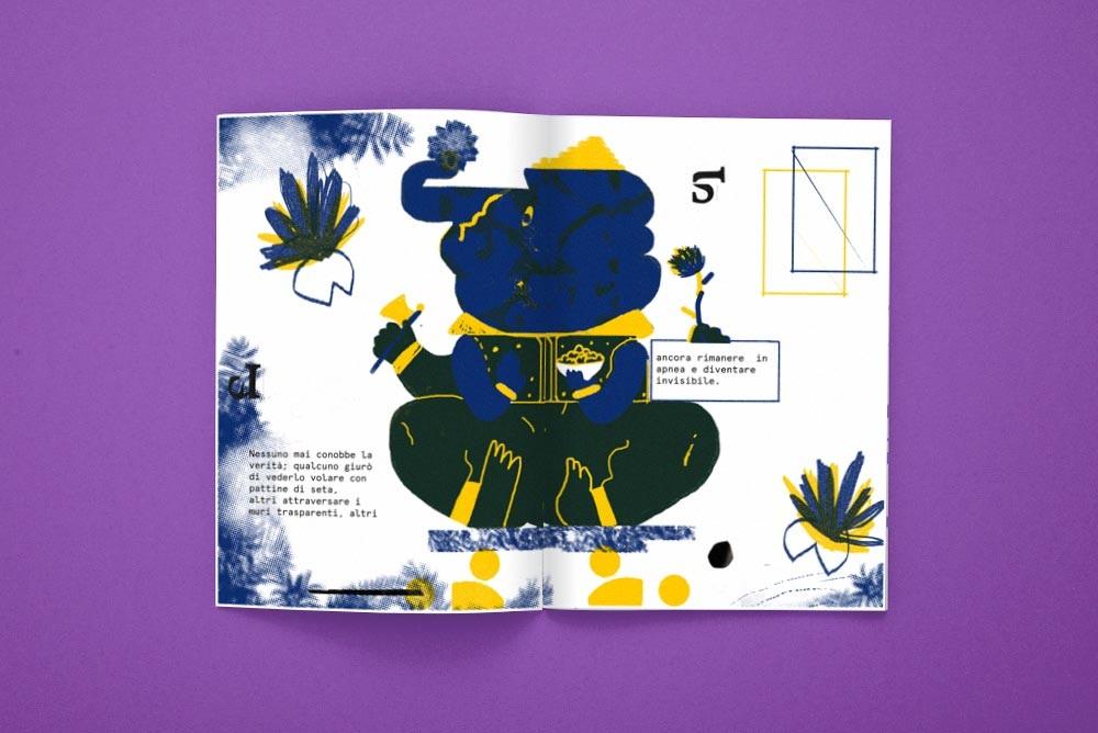 """""""La Storia dell'elefante Tuttattratto"""", scritta da Lara Caputo e illustrata da Fatomale"""