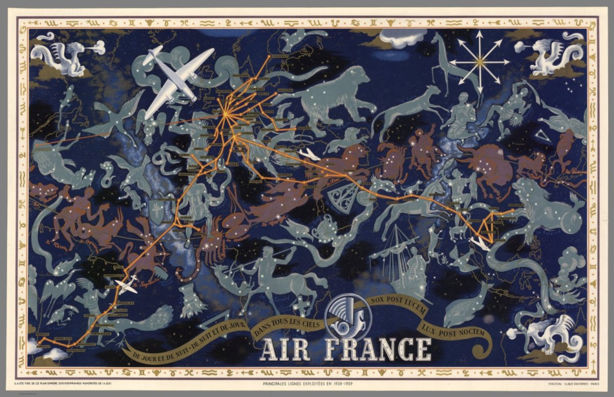 Air France : De nuit et de jour dans tous les ciels, 1939 autore: Lucien Boucher editore: Perceval (Francia)