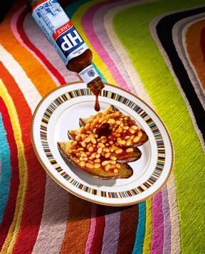 Sir Paul Smith, beans on toast © Wallpaper*