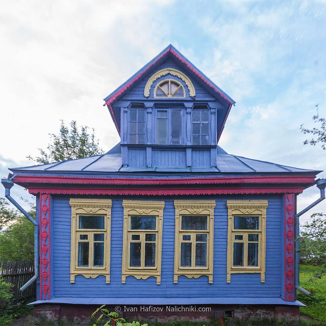 Casette Russe Di Campagna le tradizionali cornici in legno delle case russe - frizzifrizzi