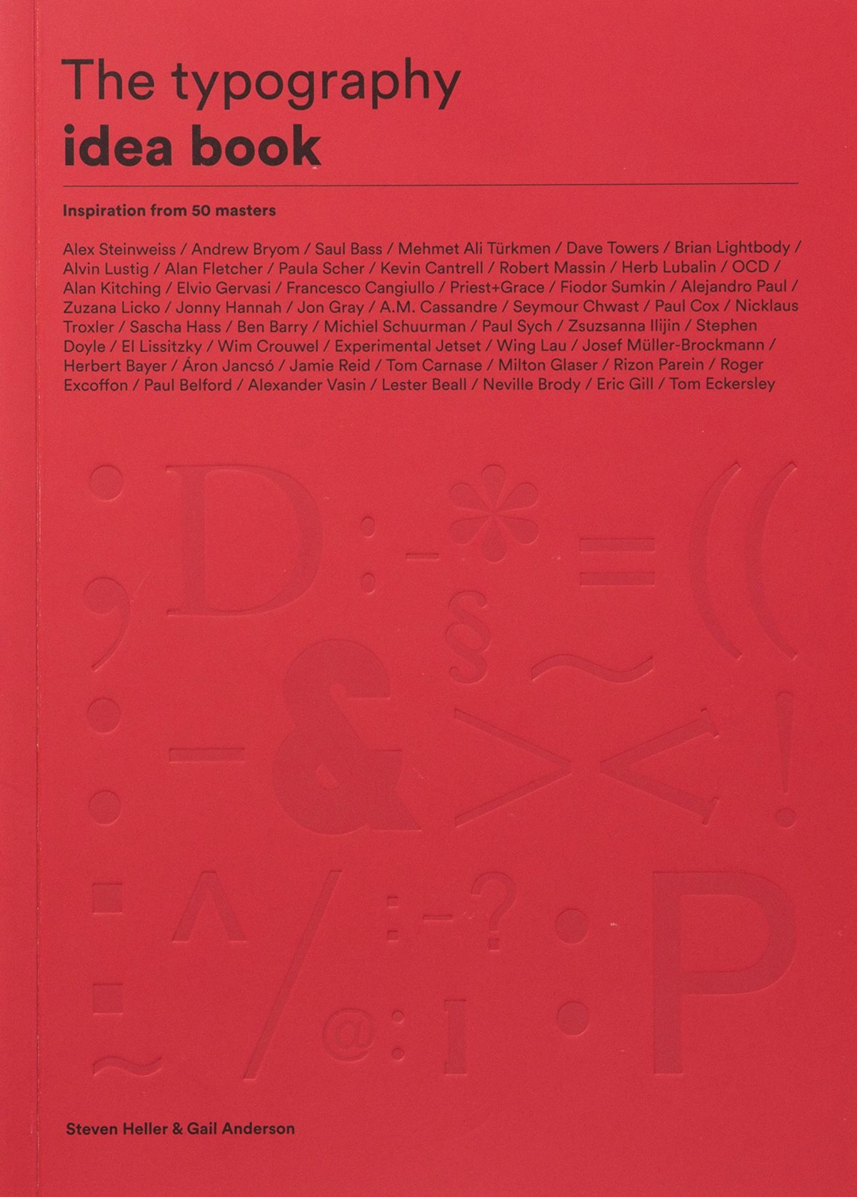 The typography idea book, Laurence King, 2016