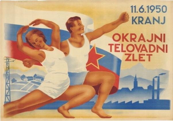 Okrajni telovadni zlet (1950) (fonte: Digitalna Knjižnica Slovenije)
