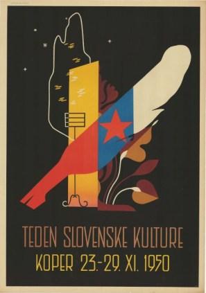 Teden slovenske kulture (1950) (fonte: Digitalna Knjižnica Slovenije)