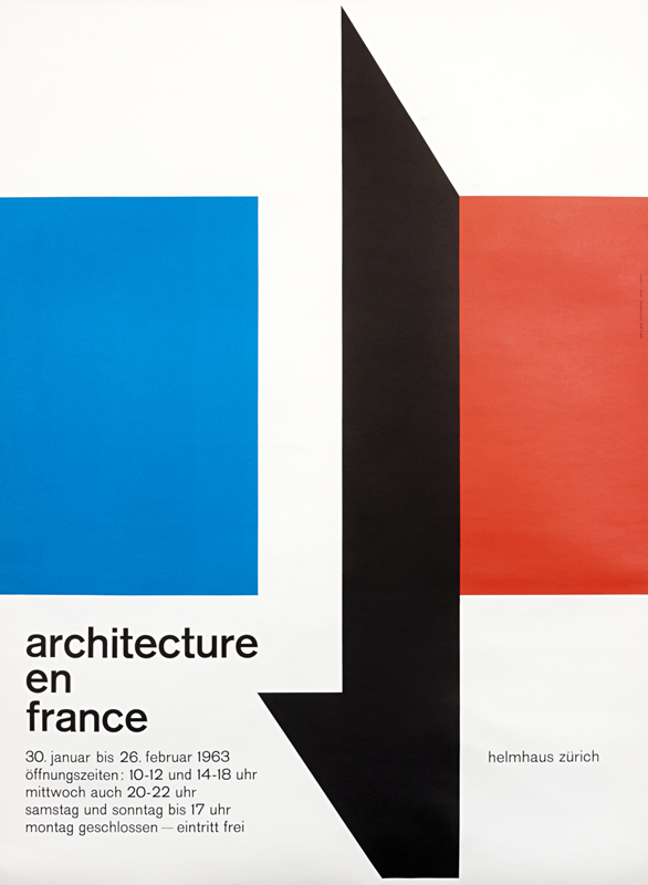 """Architecture en France"", Carl B. Graf, Svizzera, 1963"