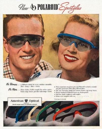 Polaroid, pubblicità anni '40 (fonte: Polaroid)