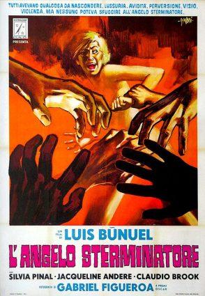 """""""L'angelo sterminatore"""" di Luis Buñuel, 1962 artwork: Sandro Symeoni (fonte: facebook.com/SandroSymeoni)"""