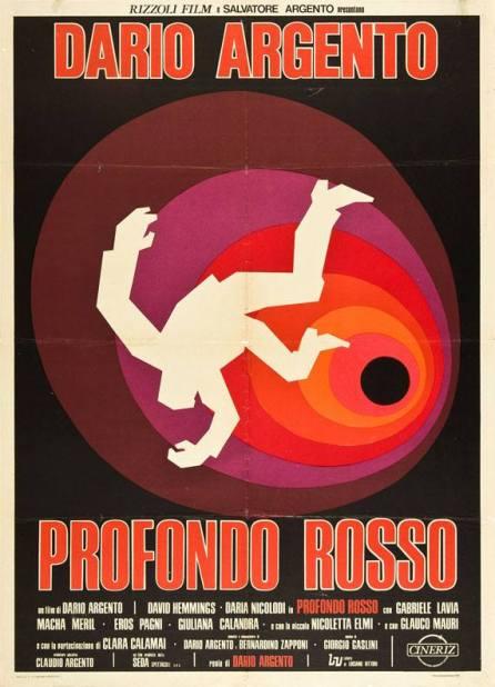 """""""Profondo rosso"""" di Dario Argento, 1975 artwork: Sandro Symeoni (fonte: facebook.com/SandroSymeoni)"""