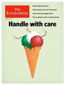 """Luca D'Urbino collabora regolarmente con il settimanale britannico """"The Economist"""""""