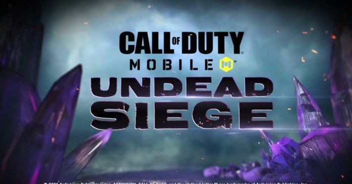 Call of Duty Mobile Undead Siege