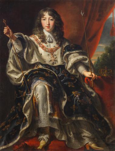 King Louis XIV of France by Justus van Egmont, c. 1651-1654.