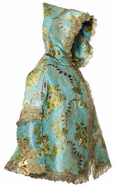 French jacket, 1760s, from Les Arts Decoratifs.