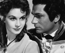 """Vivien Leigh & Laurence Olivier in """"That Hamilton Woman"""" (1941)"""