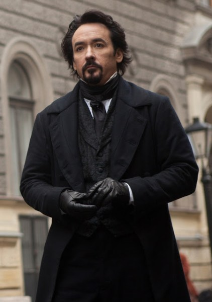 John Cusack stars in Relativity Media's stylish gothic thriller The Raven.