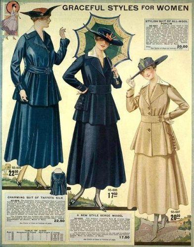 Eaton's Spring & Summer 1917 Catalog via Pinterest