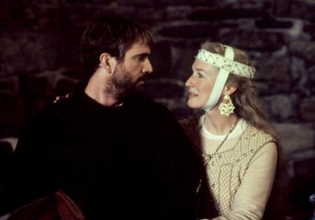 HAMLET, Mel Gibson, Glenn Close, 1990