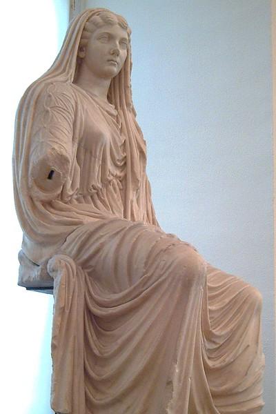 Statue of Livia, 25 CE