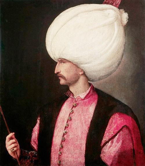 1530, Emperor Suleiman, by Titian