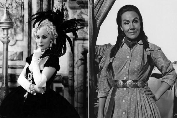 Dolores del Rio, 1934 Madame Du Barry. 1964 Cheyenne Autumn