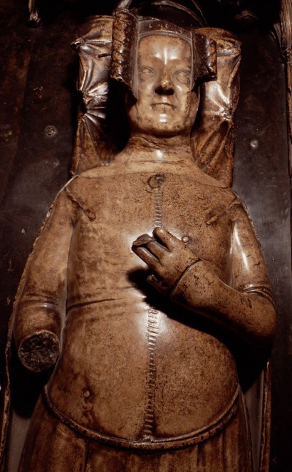 Philippa of Hainault tomb effigy, c. 1367 (Westminster Abbey).